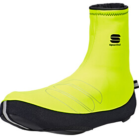 Sportful Windstopper Reflex Booties yellow fluo/black